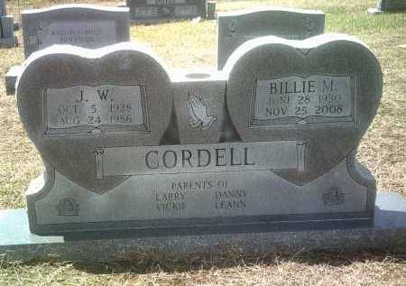 CORDELL, J W - Jackson County, Arkansas | J W CORDELL - Arkansas Gravestone Photos