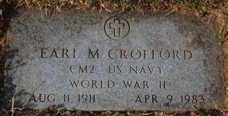 CROFFORD (VETERAN WWII), EARL M - Jackson County, Arkansas | EARL M CROFFORD (VETERAN WWII) - Arkansas Gravestone Photos
