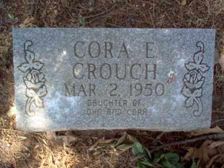CROUCH, CORA E - Jackson County, Arkansas | CORA E CROUCH - Arkansas Gravestone Photos