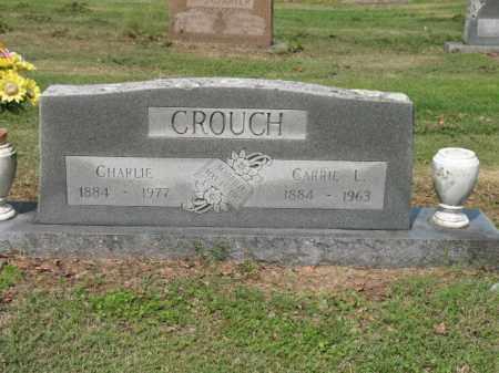CROUCH, CARRIE L - Jackson County, Arkansas | CARRIE L CROUCH - Arkansas Gravestone Photos