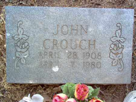 CROUCH, JOHN - Jackson County, Arkansas | JOHN CROUCH - Arkansas Gravestone Photos
