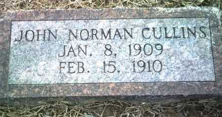 CULLINS, JOHN NORMAN - Jackson County, Arkansas | JOHN NORMAN CULLINS - Arkansas Gravestone Photos