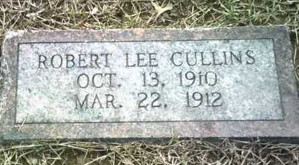 CULLINS, ROBERT LEE - Jackson County, Arkansas | ROBERT LEE CULLINS - Arkansas Gravestone Photos