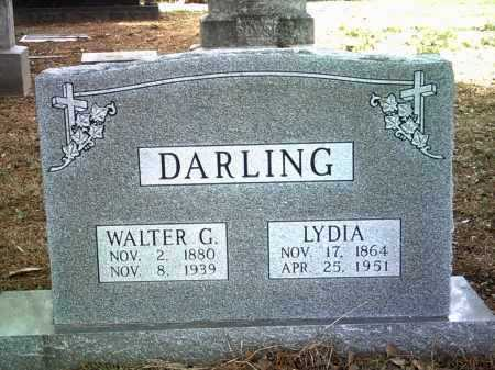 DARLING, WALTER G - Jackson County, Arkansas | WALTER G DARLING - Arkansas Gravestone Photos