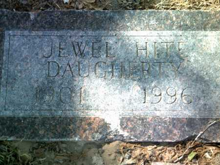HITE DAUGHERTY, JEWEL - Jackson County, Arkansas | JEWEL HITE DAUGHERTY - Arkansas Gravestone Photos