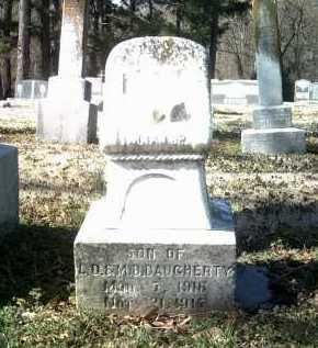 DAUGHERTY, JR, LUCIAN DAY - Jackson County, Arkansas | LUCIAN DAY DAUGHERTY, JR - Arkansas Gravestone Photos
