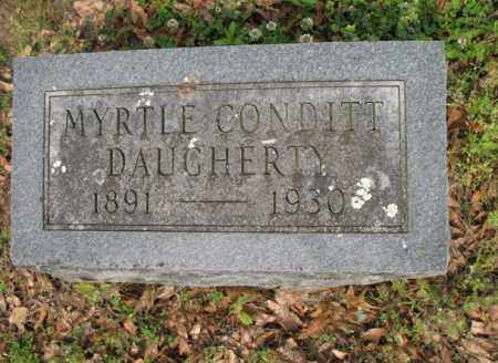CONDITT DAUGHERTY, MYRTLE - Jackson County, Arkansas | MYRTLE CONDITT DAUGHERTY - Arkansas Gravestone Photos