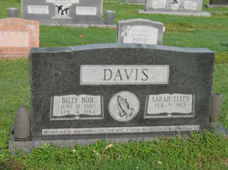 DAVIS, BILLY BOB - Jackson County, Arkansas | BILLY BOB DAVIS - Arkansas Gravestone Photos