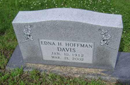 HOFFMAN DAVIS, EDNA H - Jackson County, Arkansas | EDNA H HOFFMAN DAVIS - Arkansas Gravestone Photos