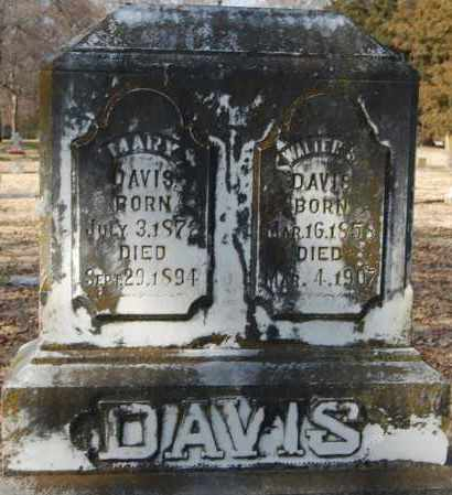 DAVIS, MARY - Jackson County, Arkansas | MARY DAVIS - Arkansas Gravestone Photos