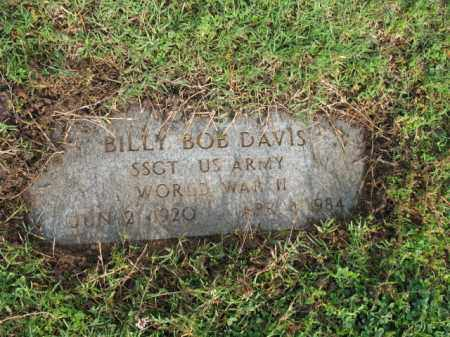 DAVIS (VETERAN WWII), BILLY BOB - Jackson County, Arkansas | BILLY BOB DAVIS (VETERAN WWII) - Arkansas Gravestone Photos