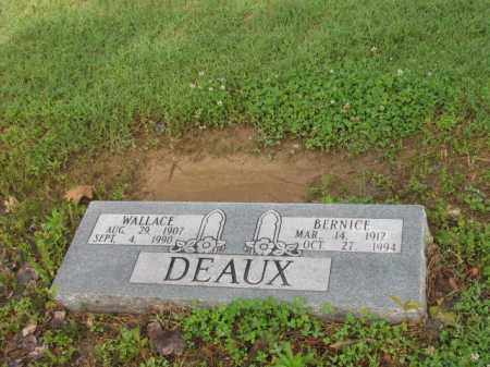 DEAUX, WALLACE - Jackson County, Arkansas | WALLACE DEAUX - Arkansas Gravestone Photos