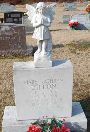 DILLON, MARY KATHRYN - Jackson County, Arkansas | MARY KATHRYN DILLON - Arkansas Gravestone Photos