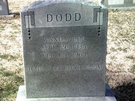 DODD, WANDA LEE - Jackson County, Arkansas | WANDA LEE DODD - Arkansas Gravestone Photos