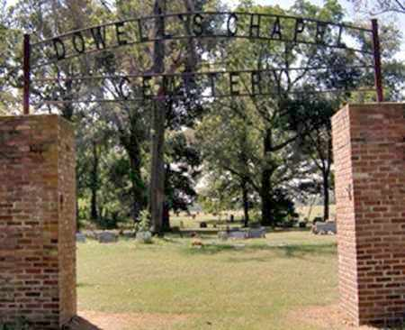 *DOWELLS CHAPEL GATE,  - Jackson County, Arkansas |  *DOWELLS CHAPEL GATE - Arkansas Gravestone Photos