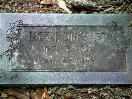 DRESSLER, JACKIE - Jackson County, Arkansas | JACKIE DRESSLER - Arkansas Gravestone Photos