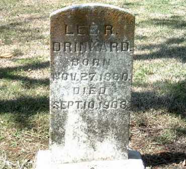 DRINKARD, LEE A - Jackson County, Arkansas   LEE A DRINKARD - Arkansas Gravestone Photos