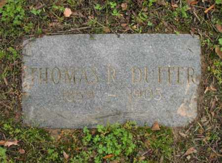 DUFFER, SR, THOMAS R - Jackson County, Arkansas | THOMAS R DUFFER, SR - Arkansas Gravestone Photos