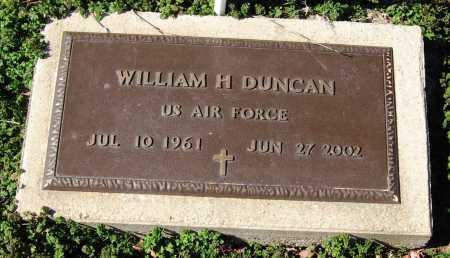 DUNCAN  (VETERAN), WILLIAM H - Jackson County, Arkansas | WILLIAM H DUNCAN  (VETERAN) - Arkansas Gravestone Photos