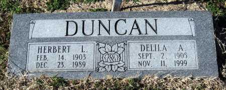 DUNCAN, HERBERT L - Jackson County, Arkansas | HERBERT L DUNCAN - Arkansas Gravestone Photos
