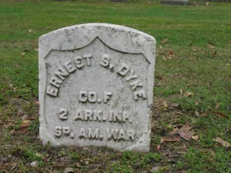 DYKE (VETERAN SAW), ERNEST S - Jackson County, Arkansas | ERNEST S DYKE (VETERAN SAW) - Arkansas Gravestone Photos