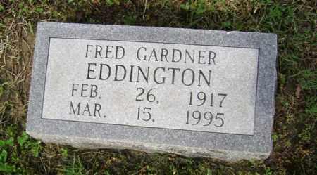 EDDINGTON (PIC2), FRED GARDNER - Jackson County, Arkansas | FRED GARDNER EDDINGTON (PIC2) - Arkansas Gravestone Photos