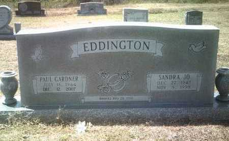 EDDINGTON, PAUL GARDNER - Jackson County, Arkansas | PAUL GARDNER EDDINGTON - Arkansas Gravestone Photos