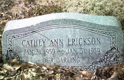 ERICKSON, CATHEY ANN - Jackson County, Arkansas | CATHEY ANN ERICKSON - Arkansas Gravestone Photos