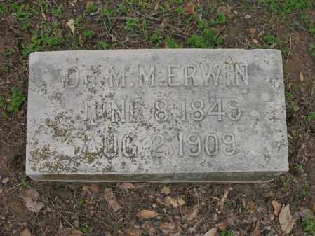 ERWIN, DR MARION MAYO - Jackson County, Arkansas | DR MARION MAYO ERWIN - Arkansas Gravestone Photos