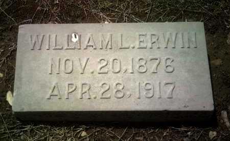 ERWIN, WILLIAM L - Jackson County, Arkansas | WILLIAM L ERWIN - Arkansas Gravestone Photos