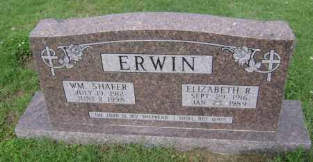 ERWIN, WILLIAM SHAFER - Jackson County, Arkansas | WILLIAM SHAFER ERWIN - Arkansas Gravestone Photos