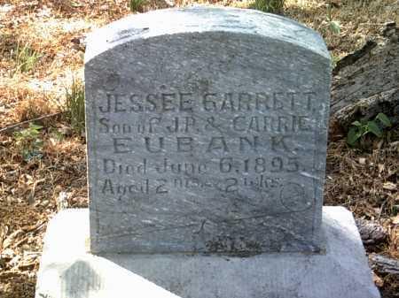 EUBANK, JESSEE GARRETT - Jackson County, Arkansas | JESSEE GARRETT EUBANK - Arkansas Gravestone Photos