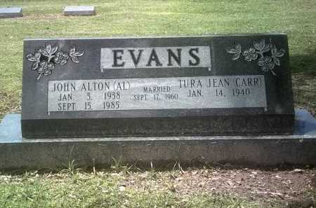 "EVANS, JOHN ALTON ""AL"" - Jackson County, Arkansas 