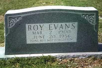 EVANS, ROY - Jackson County, Arkansas | ROY EVANS - Arkansas Gravestone Photos