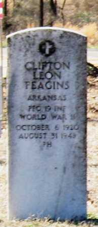 FEAGINS  (VETERAN WWII), CLIFTON LEON - Jackson County, Arkansas | CLIFTON LEON FEAGINS  (VETERAN WWII) - Arkansas Gravestone Photos