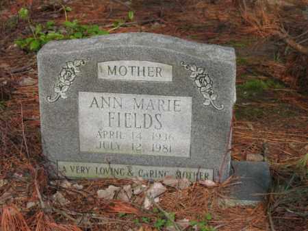FIELDS, ANN MARIE - Jackson County, Arkansas | ANN MARIE FIELDS - Arkansas Gravestone Photos