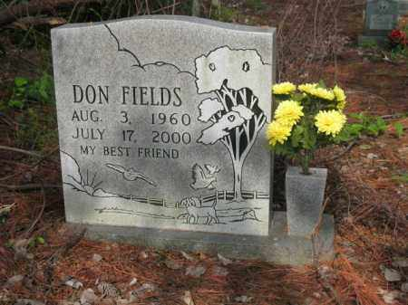FIELDS, DON - Jackson County, Arkansas | DON FIELDS - Arkansas Gravestone Photos