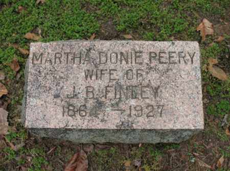 FINLEY, MARTHA DONIE - Jackson County, Arkansas | MARTHA DONIE FINLEY - Arkansas Gravestone Photos