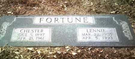 FORTUNE, CHESTER - Jackson County, Arkansas | CHESTER FORTUNE - Arkansas Gravestone Photos