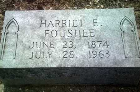 FOUSHEE, HARRIET E - Jackson County, Arkansas | HARRIET E FOUSHEE - Arkansas Gravestone Photos