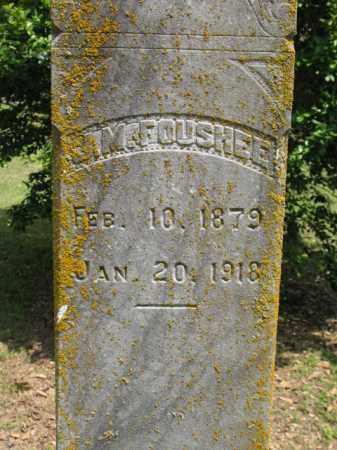 FOUSHEE, JOSEPH MAC - Jackson County, Arkansas | JOSEPH MAC FOUSHEE - Arkansas Gravestone Photos