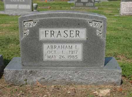 FRASER, ABRAHAM L - Jackson County, Arkansas | ABRAHAM L FRASER - Arkansas Gravestone Photos