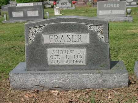 FRASER, ANDREW J - Jackson County, Arkansas | ANDREW J FRASER - Arkansas Gravestone Photos