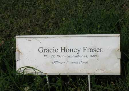 FRASER, GRACIE - Jackson County, Arkansas | GRACIE FRASER - Arkansas Gravestone Photos