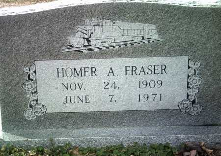 FRASER, HOMER A - Jackson County, Arkansas | HOMER A FRASER - Arkansas Gravestone Photos