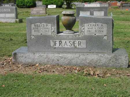 FRASER, WILLES R - Jackson County, Arkansas | WILLES R FRASER - Arkansas Gravestone Photos