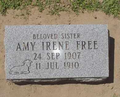 FREE, AMY IRENE - Jackson County, Arkansas | AMY IRENE FREE - Arkansas Gravestone Photos