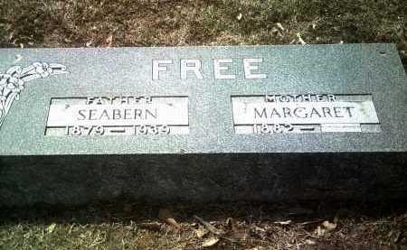 FREE, SEABERN ELISHA - Jackson County, Arkansas | SEABERN ELISHA FREE - Arkansas Gravestone Photos