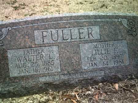 FULLER, LILLIE F - Jackson County, Arkansas | LILLIE F FULLER - Arkansas Gravestone Photos