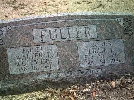 FULLER, WALTER L - Jackson County, Arkansas | WALTER L FULLER - Arkansas Gravestone Photos